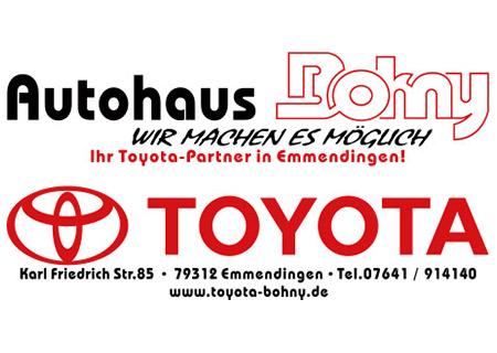 Toyota Autohaus Bohny